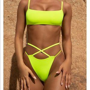Oh Polly neon bikini